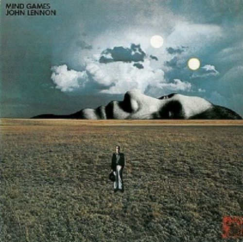 JOHN LENNON Mind Games Vinyl Record LP Apple